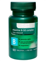 VITAMIN B 50 mg KOMPLEX 60 Tab. **TIME RELEASED**